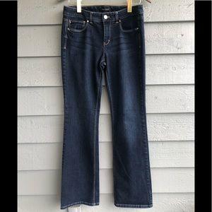 WHBM Blanc Boot Leg Jeans 8R